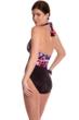 Magicsuit Bromance Yves Plunge Halter One Piece Swimsuit