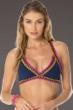 Becca by Rebecca Virtue Scenic Route Crochet Halter Bikini Top
