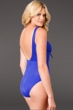 Miraclesuit Blue DD-Cup Sandra D Underwire One Piece Swimsuit