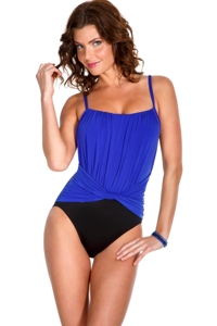 Magicsuit Twilight Jerry Ruched Front One Piece Swimsuit