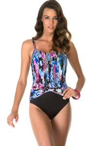 Magicsuit Blue Skin Tight Jerry One Piece Swimsuit