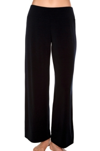 Magicsuit Black Solid Jersey Cabana Pant