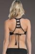 Becca by Rebecca Virtue E-Cup (DD-Cup) Ladder Back Bralette Bikini Top