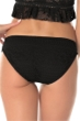 Becca by Rebecca Virtue Prairie Rose Black America Bikini Bottom