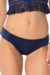Becca by Rebecca Virtue Prairie Rose Navy American Bikini Bottom