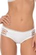 Becca by Rebecca Virtue Prairie Rose White Hipster Bikini Bottom