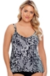 Shape Solver Plus Size Mix It Up Princess Seam Tankini Top