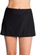 Shape Solver Black Skirt with Zipper Pocket