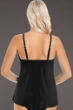 Magicsuit Black Golden Opportunity Marni High Neck Underwire Tankini Top