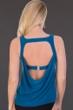 Magicsuit Ocean Blue Reese Cowl Back Tankini Top