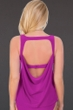 Magicsuit Orchid Purple Reese Cowl Back Tankini Top