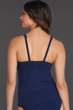 Magicsuit Navy DD-Cup Bea Shirred Front Tankini Top