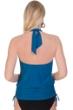 Magicsuit Ocean Cybil High Neck Halter Underwire Side Tie Blouson Tankini Top