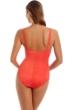 Magicsuit Flamingo Behind Bars Anastasia Mesh High Neck Underwire One Piece Swimsuit