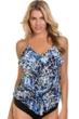 Magicsuit Sea Glass Rita Triple Tier Tankini Top