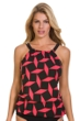 Magicsuit Gridlock Jodi High Neck Underwire Tankini Top