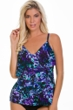 Magicsuit Chasing Butterflies Chloe Lingerie Tiered Tankini Top