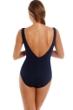 Magicsuit Black Scuba Skyler Zip Front One Piece Swimsuit