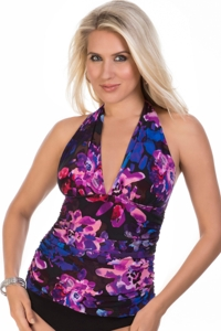 Magicsuit Divine April Halter Tankini Top