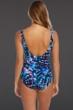 Magicsuit Ultraviolet Yasmin Tie Front One Piece Swimsuit