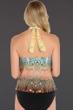 Magicsuit Bollywood Underwire Nicole High Neck Halter Tankini Top