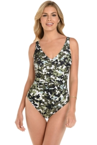 Magicsuit G.I. Jane Steffi Strappy Back One Piece Swimsuit
