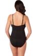 Magicsuit Black Blaire Fringe Underwire One Piece Swimsuit