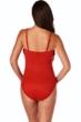 Magicsuit Rouge Red Blaire Fringe Underwire One Piece Swimsuit