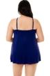 Magicsuit Indigo Blue Plus Size Parker Underwire Swimdress