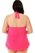 Magicsuit Rose Pink Plus Size Sophie Underwire Tankini Top
