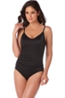 Magicsuit Black Mikki Strappy Back One Piece Swimsuit