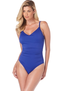 Magicsuit Twilight Blue Mikki Strappy Back One Piece Swimsuit