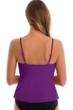 Magicsuit Amethyst Purple Rita Triple Tier Tankini Top
