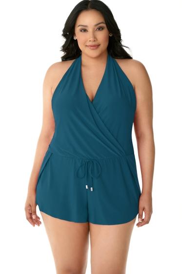 Magicsuit Baltic Plus Size Bianca Swim Romper