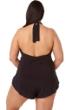 Magicsuit Black Plus Size Bianca Swim Romper One Piece Swimsuit