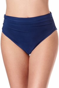 Magicsuit Midnight Blue Jersey Brief Shirred Tankini Bottom