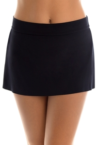 Magicsuit Black Tennis Swim Skirt