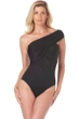 Magicsuit Black Goddess One Shoulder One Piece Swimsuit
