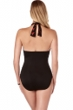 Magicsuit Petal Pusher Jenn V-Neck Shirred One Piece Swimsuit