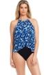 Magicsuit Blue Tide Aubrey High Neck One Piece Swimsuit