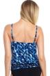Magicsuit Blue Tide Justina Blouson Tankini Top