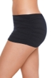 Magicsuit Black Shirred Swim Skirt