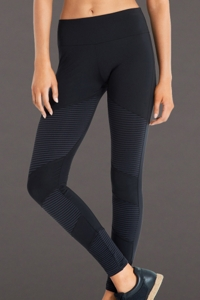 Seafolly Black Moto Legging