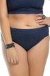 Becca ETC by Rebecca Virtue Plus Size Prairie Rose Denim Side Shirred Hipster Bikini Bottom