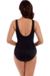 Miraclesuit Blue Night Lights Layered Escape Underwire One Piece Swimsuit