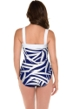 Miraclesuit Mix to Match Square Neck Bandeau One Piece Swimsuit