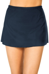 Miraclesuit Solid Midnight Swim Skirt