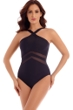 Miraclesuit Black Network Point of View One Piece Swimsuit