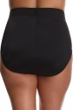 Miraclesuit Black Plus Size Classic Brief Swim Bottom