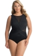 Miraclesuit Plus Size High Neck Palma One Piece Swimsuit